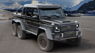 Illustration for article titled Mansory Will Build You A Full Carbon G63 AMG 6x6 Because Of Course