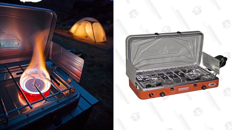 Camp Chef Everest High-Output 2-Burner Stove | $80 | Amazon