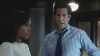 Back in the day: Now we know where Stephen (Henry Ian Cusick) went after season 1 of Scandal.ABC screenshot