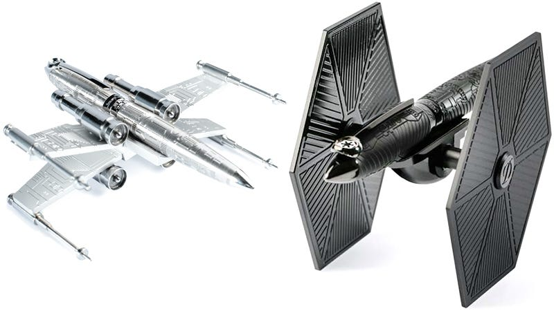 Illustration for article titled It's OK to PutStar Wars Toys on Your Desk When They're Fancy $2,000 Pens
