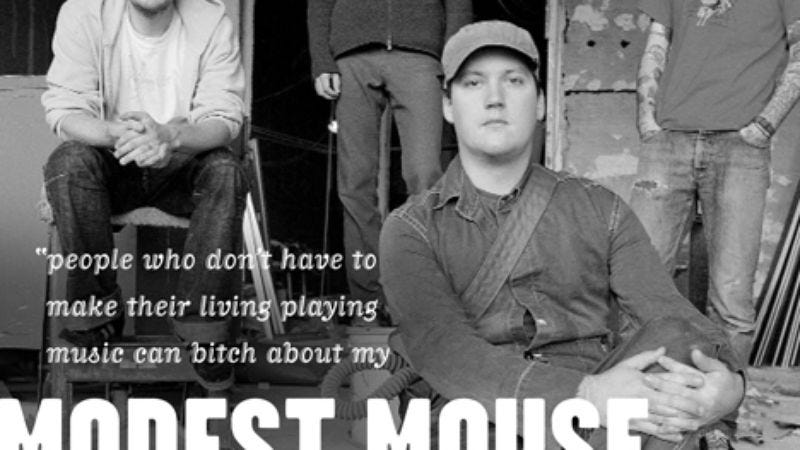 Illustration for article titled Modest Mouse