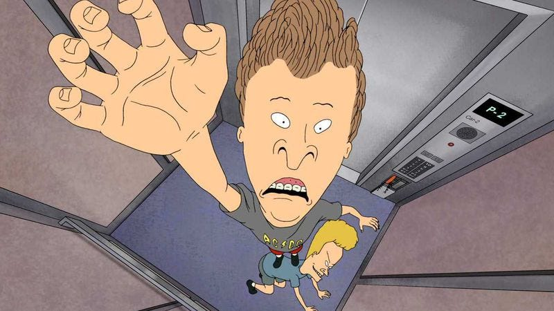 Illustration for article titled With Beavis And Butt-head Do America, Mike Judge skewered the idiocy of cinematic adventures