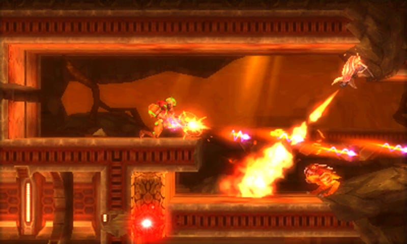 Illustration for article titled You Need To Watch The Metroid: Samus Returns Trailer In 3D