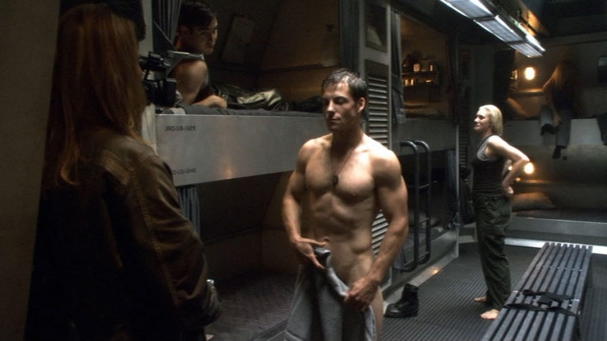 Battlestar galactica men nude