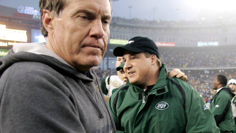Eric Mangini wants to mend fences with Bill Belichick
