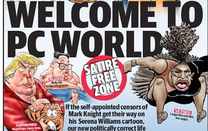 Illustration for article titled Hypothetical Grievances Presented By An Australian Newspaper To Defend Its Big-Lipped Serena Williams Cartoon, Ranked