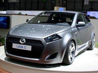 Illustration for article titled Geneva Showcase: Lada C