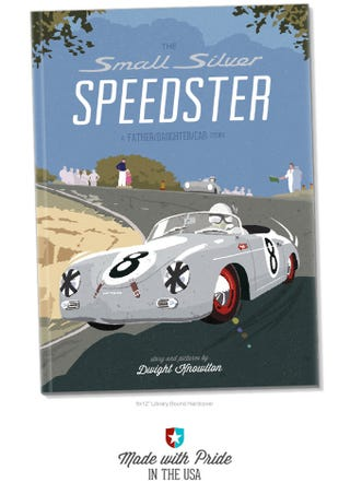 Illustration for article titled The Small Silver Speedster