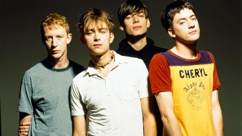 The band in the mid-'90s