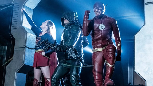 Everyone remain calm: It's the season finale of Legends Of Tomorrow