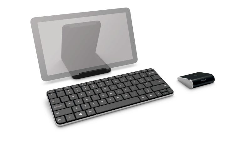 Illustration for article titled Microsoft Wedge Mobile Keyboard and Wedge Touch Mouse: The First Windows 8 Accessories Arrive in Style