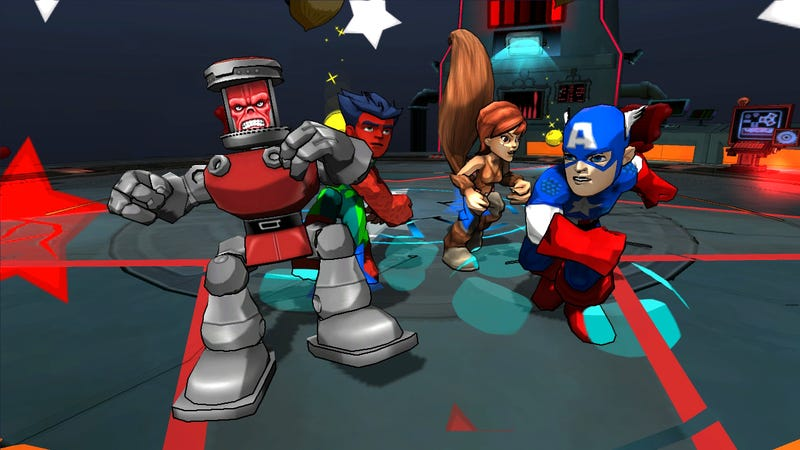 Illustration for article titled The New Marvel uDraw Game is a Preview of our Wii U Future
