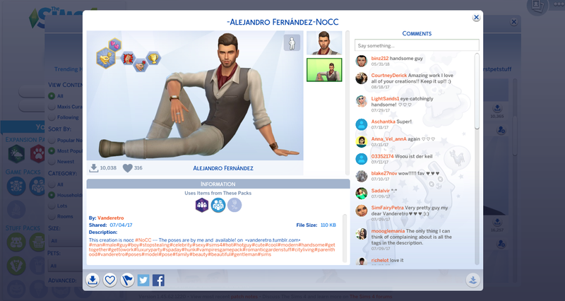 Sims 4 Fans' 'Hot Guys' Don't Meet My (Very Low) Standards