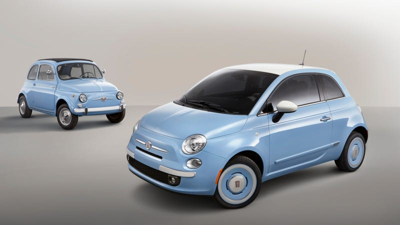 New 2014 Fiat 500 1957 Edition Highlights 57 Years Of The