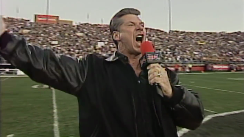"""""""THIS! IS! THE X! F! L!"""" (Image via NBC Sports/YouTube)"""