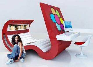 Illustration for article titled Teenage Furniture for Teenagers with Bad Taste