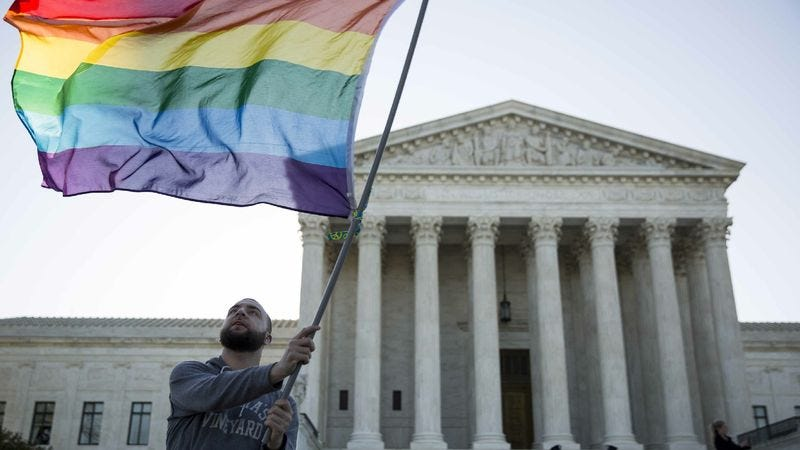 Illustration for article titled Nation On Edge As Court Votes Whether To Legalize Gay Marriage Now Or In A Few Years