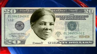 An image of a $20 bill with the face of Harriet Tubman added to it that has been circulating onlineTwitter