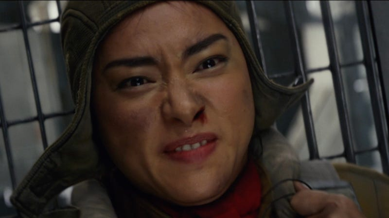 Veronica Ngo as Paige Tico in Star Wars: The Last Jedi.