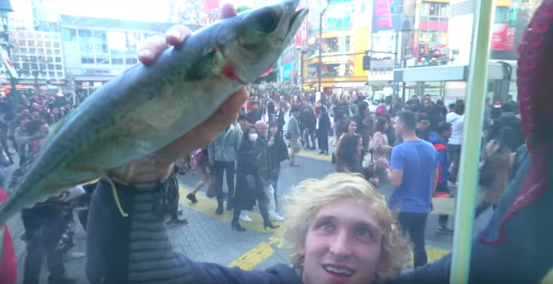Logan Paul, The Internet isn't too happy with the rest of Logan Paul's visit in Japan