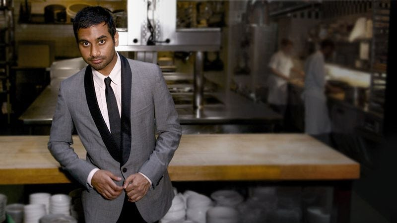 Illustration for article titled Aziz Ansari convinced us to give up on love this week on The A.V. Club