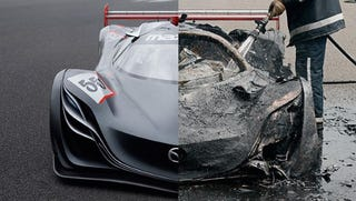 Illustration for article titled The Mazda Furai Concept is dead and Top Gear is to blame