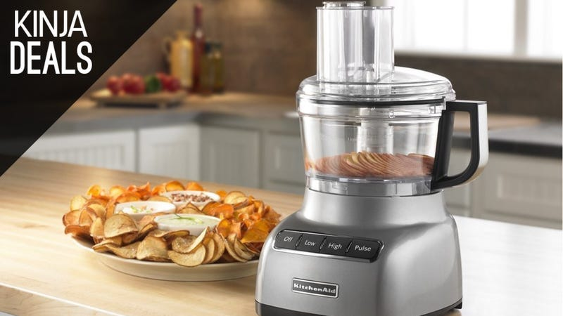 Illustration for article titled Outsource Your Kitchen Grunt Work to This KitchenAid Food Processor