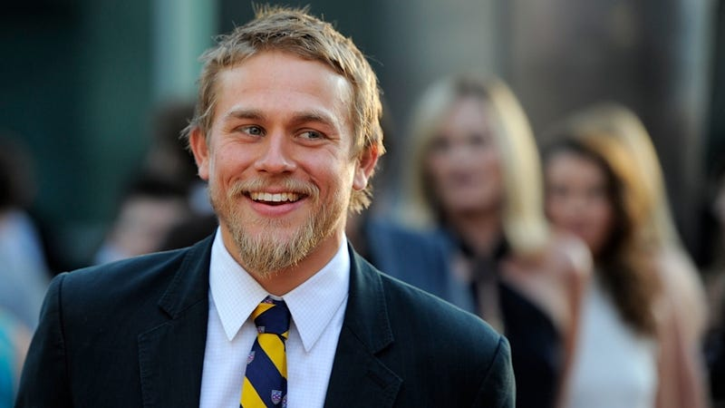 Illustration for article titled Charlie Hunnam's Boner Is Really Excited About Fifty Shades of Grey