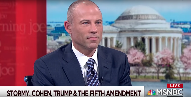 Illustration for article titled Just Spit It Out, Michael Avenatti!