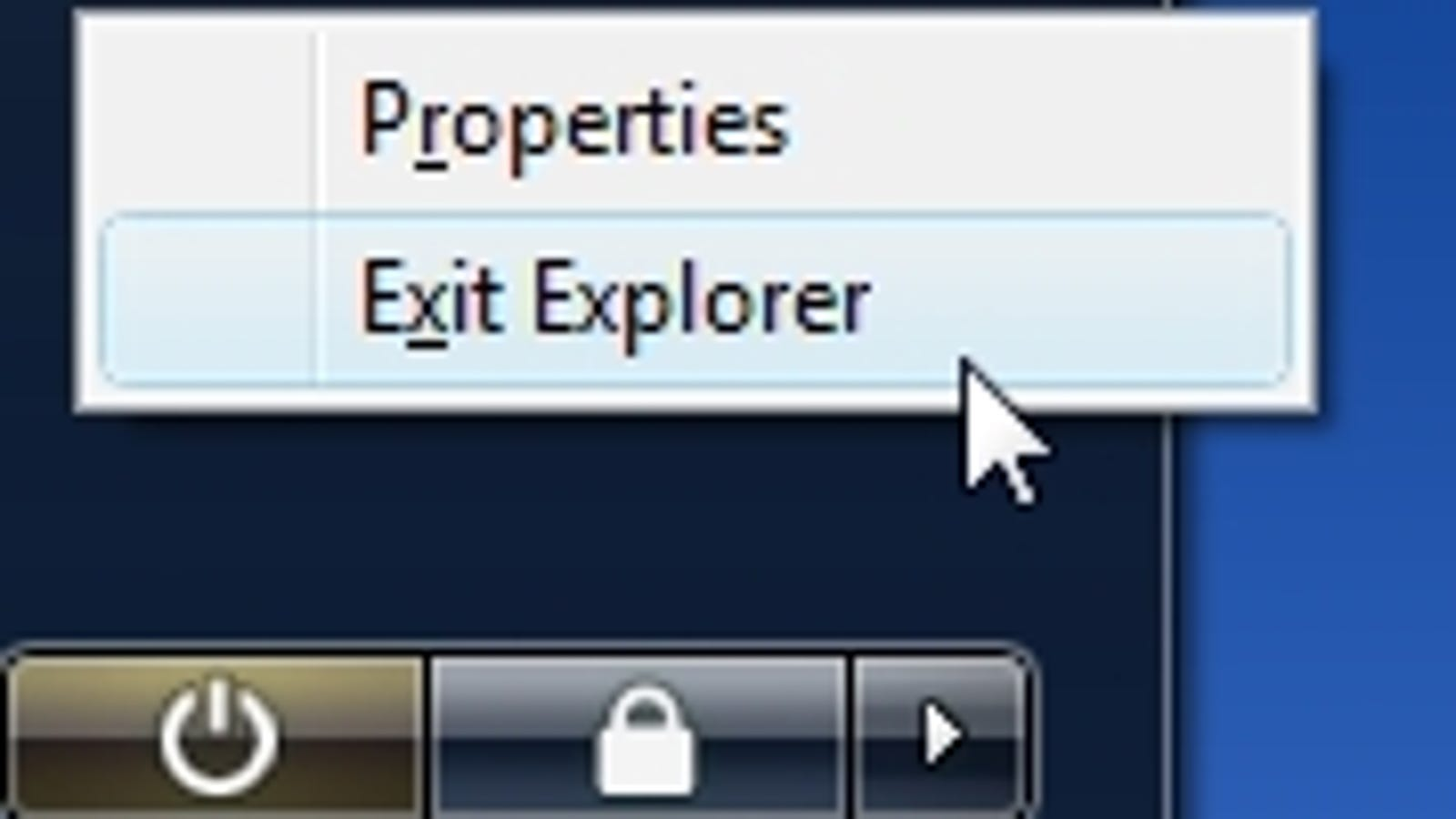 Restart Windows Explorer the Safe Way