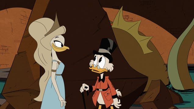 "The first episode of the DuckTales ""bomb"" begins with a new affirmation of the value of adventure stories"