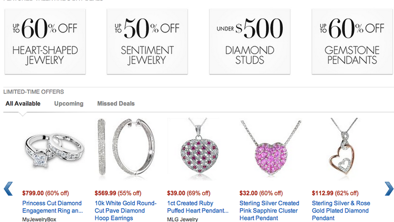 Because Valentines Day Is This Weekend Amazon Heavily Promoting Jewelry Bargains Makes Sense But Are These Discounts Really A Deal Not Exactly