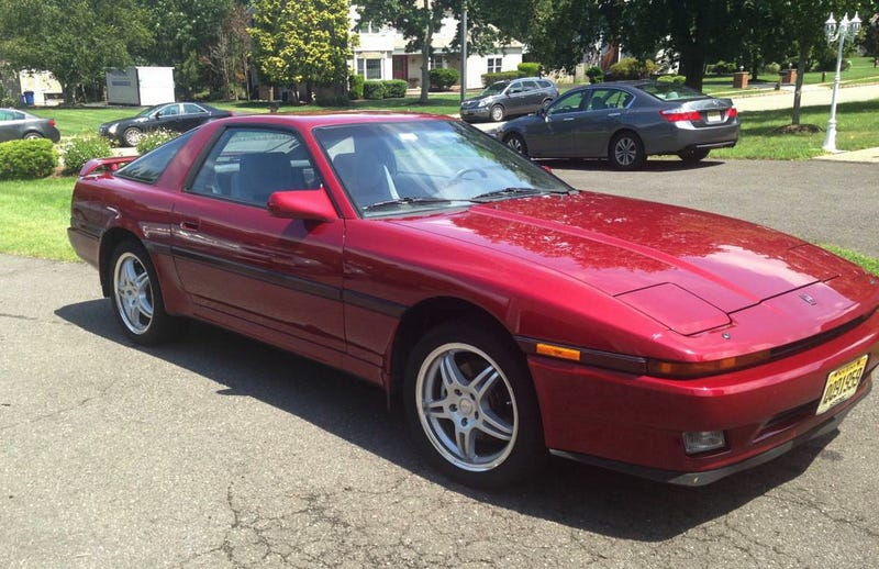 For $12,800, Could This 1987 Toyota Supra Turbo Turn You Into A ...