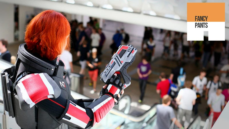 Illustration for article titled Commander Shepard Will Shoot the Next Cosplayer She Sees