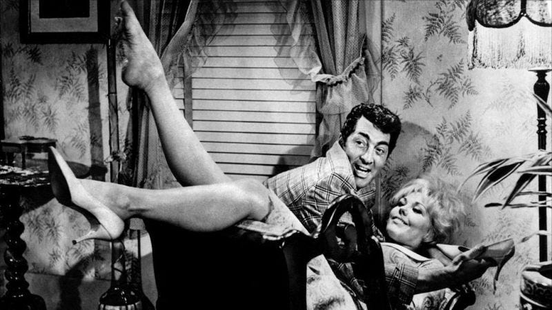 Illustration for article titled Billy Wilder and Dean Martin make a sex comedy, scandalize nation