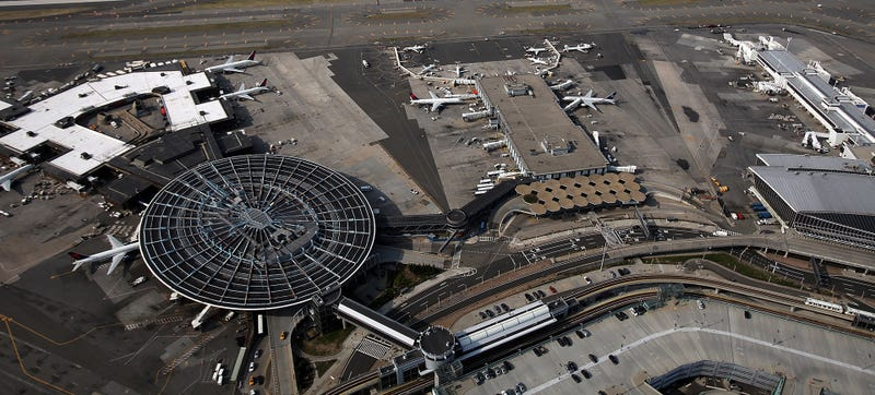 JFK from above. This photo, if you must know, was taken in 2011 and the Worldport has since been demolished. Sad! Photo Credit: Getty Images