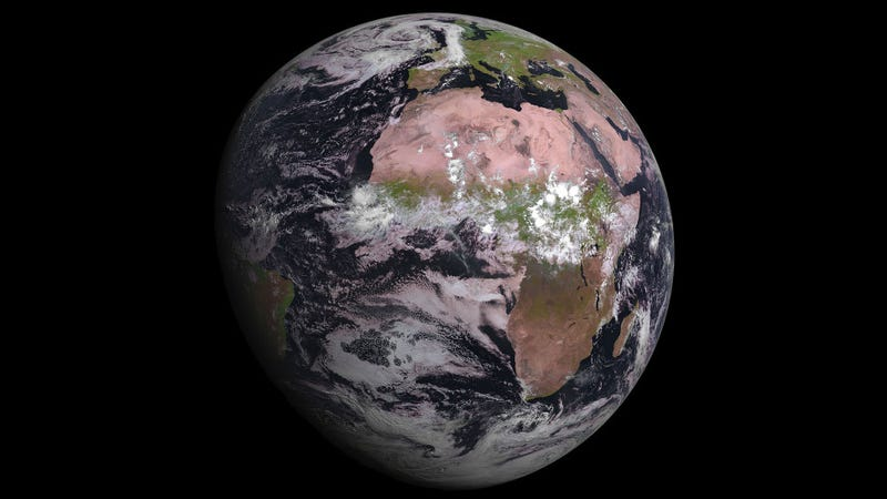 Earth Looks Glorious From Europes Newest Weather Satellite - Newest satellite images