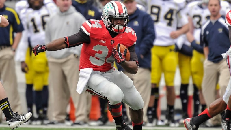 """Illustration for article titled Reporter Who Saw Video: OSU RB Carlos Hyde """"Appeared To Slap"""" Woman"""