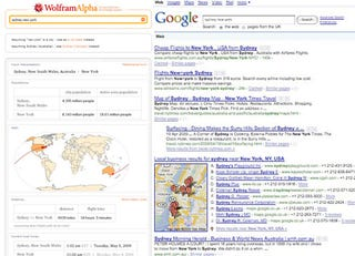 Illustration for article titled Wolfram Alpha and Google Tested Head-To-Head: Whoever Wins, We Win