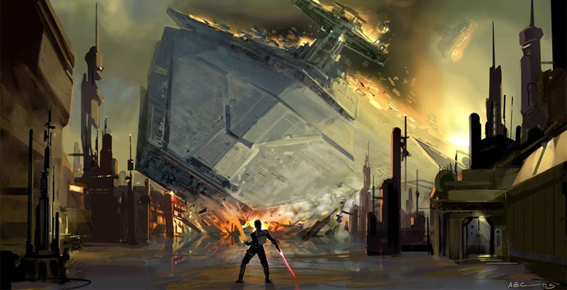 Illustration for article titled The Force Unleashed: As If 5.7 Million Gamers Suddenly Cried Out In Ownership