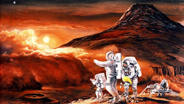 Radiation Makes a Manned Trip to Mars Impossible with ...
