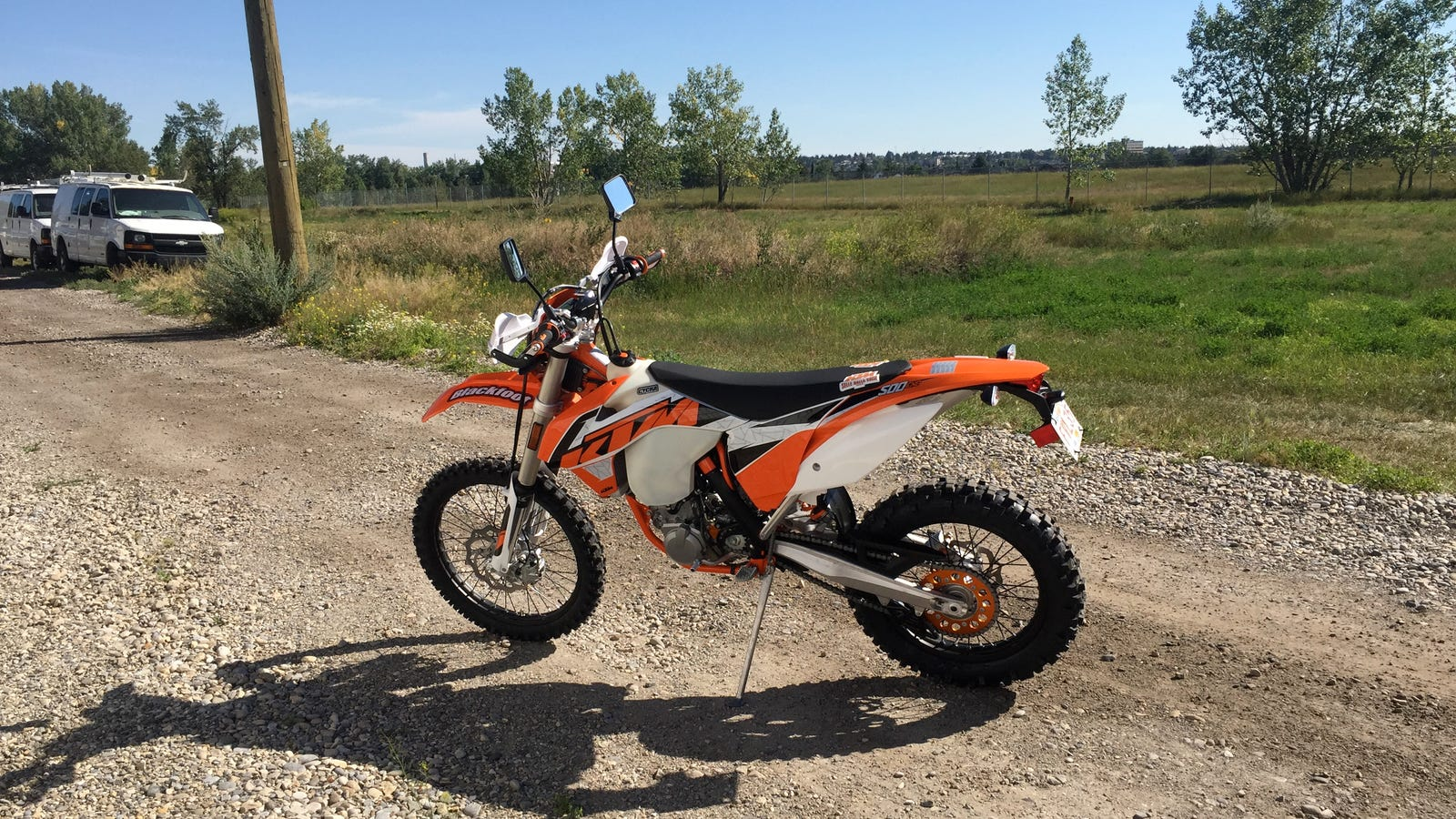 The Ktm 500 Exc Why You Want A Road Legal Dirt Bike Carburetor Diagram Drz 400 Carb Upgrade