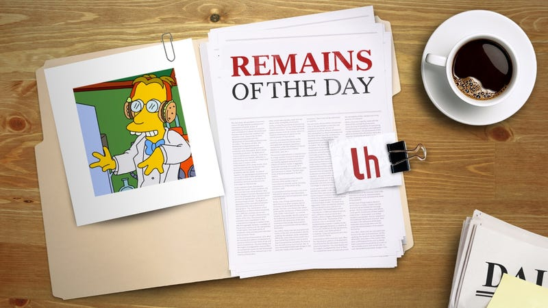Illustration for article titled Remains of the Day: The Simpsons Quote Search Engine Frinkiac Can Now Make GIFs