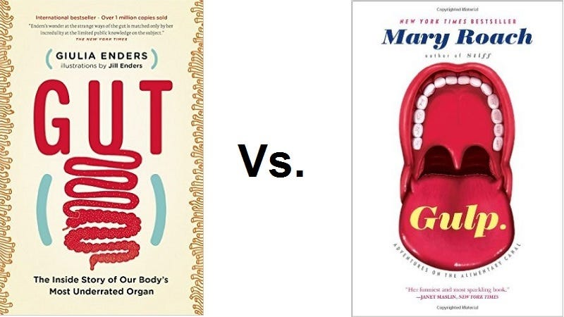 Illustration for article titled The Battle of the Books: Gulp vs. Gut