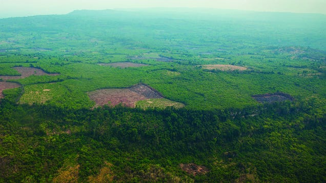 Aerial Laser Scans Uncover Hidden Early Capital of the Khmer Empire