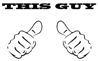 Illustration for article titled Who has two thumbs and a four-day weekend starting today?