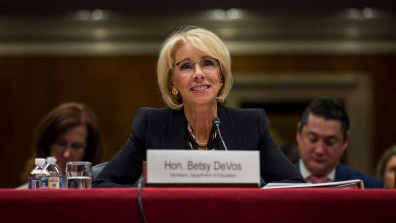 At least one D.C. restaurant hopes nobody will notice Betsy DeVos eating there