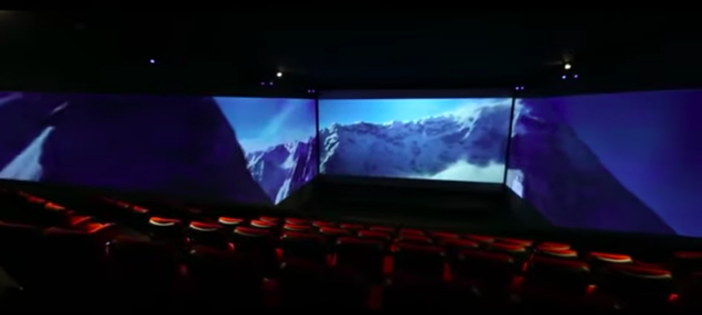 Sony Wants Venom to Wrap All the Way Around Your Face With 270-Degree Movie Screens