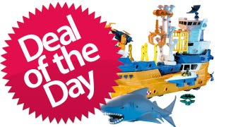 Illustration for article titled This Mega Rig Shark And Ship Set Is Your Because-Children-Love-Sharks Deal of the Day