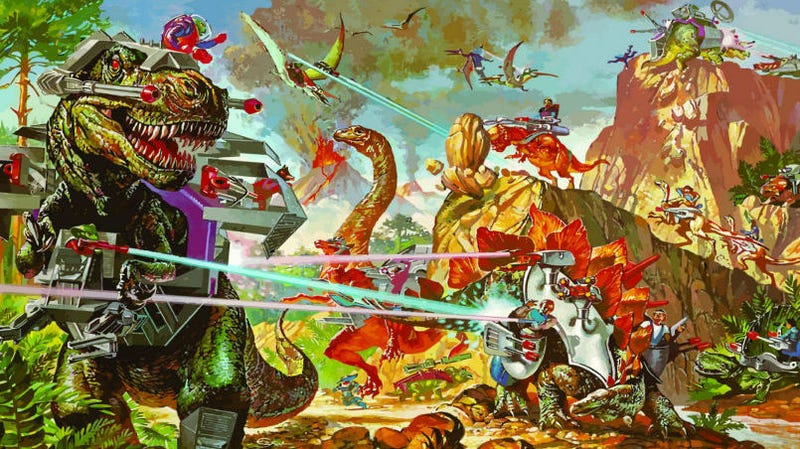 If Hollywood can try to make a Dino Riders movie, any franchise is up for grabs.